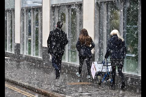 Bundles in the snow 3